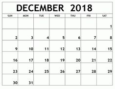get printable december calendar 2018 printable blank template notes excel sheets ms word doc with holidays in usa canada australia