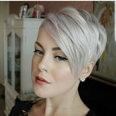 """3,789 Likes, 42 Comments - Short Hairstyles   Pixie Cut (@nothingbutpixies) on Instagram: """"@sarahb.h give me one word and an emoji"""""""