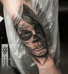 Skull, Portrait, Tattoos, Ideas, Tatuajes, Headshot Photography, Tattoo, Portrait Paintings, Thoughts