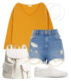 """""""#182"""" by mintgreenb on Polyvore featuring American Vintage, River Island, Common Projects and H&M"""