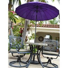 7 Foot Patio Market Umbrella Purple Parasol_$34_https://www.outdoorproweb.