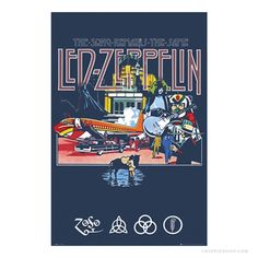 Led Zeppelin - Song Remains the Same Poster