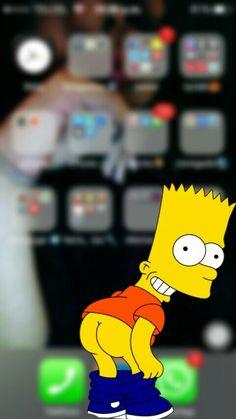 Iphone Lockscreen Wallpaper, Simpson Wallpaper Iphone, Wallpaper Backgrounds, Video Simpson, Bart Simpson, Supreme Wallpaper, Sunflower Wallpaper, Phone Organization, Wallpaper Downloads