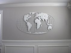 Iron world map wall art for the wall pinterest iron walls and nursery edition the crib search dream book design more information more information modern map wall art gumiabroncs Image collections