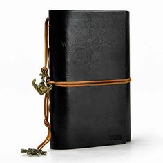 ZLYC Vintage String Mediterranean Style Anchor Loose-leaf Handmade Refillable Leather Journal Diary Notepad Notebook Black ZLYC http://www.amazon.com/dp/B00M3O0Z3S/ref=cm_sw_r_pi_dp_7dH1tb18QZRFPXHV