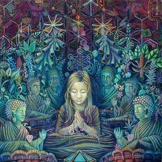 La déesse, énergie féminin sacré. Shamanisme, esprit de la nature. Connexion. Vision. Karma