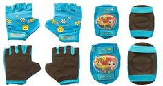 Kids' Cycling Protective Gear - Titan Flower Power Princess MultiSport BMX and Skateboard Protective Pad Set ** Read more reviews of the product by visiting the link on the image.