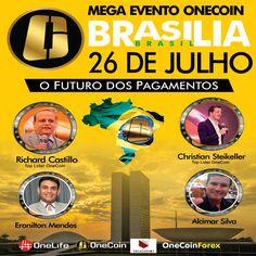 Teremos o maior evento da ONELIFE no Brasil em Brasília no centro de convenções em Brasília  no dia 26-07-2016 voce não pode perder ! Saber mais WhatsApp +55 62- 9-8143-6152 TIM