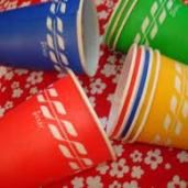Dixie cups!!