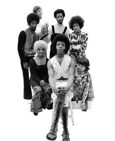 """Sly and the Family Stone. """"Everybody is a star. I can feel it when you shine on me. I love you for who you are, not the one you feel you need to be."""""""