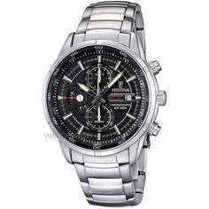 My precious! Mens Festina Chronograph Watch F6823/4