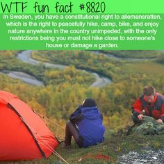 The right to roam - WTF fun facts