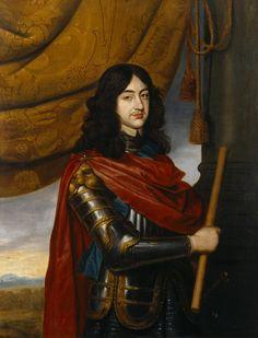 Charles II, roi d'Angleterre, par Honthorst