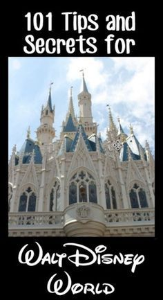 Huge list of 101 tips for Walt Disney World. This will help us having the perfect vacation! Pin now if you are going to Disney World
