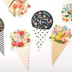 Large Bouquet Card