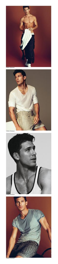 Adam Senn by Matteo Montanari for GQ Spain