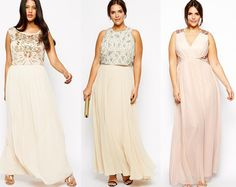 Shapely Chic Sheri: 30 Plus Size Formal Evening Dresses for the Holidays
