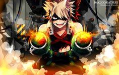 F: Bakugou (Boku no hero academia) by Pinochi.deviantart.com on @DeviantArt