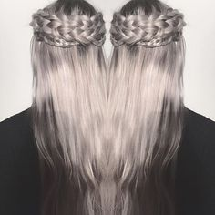 •Crown braid•  #shirlbraids #crownbraid #crown #braided #hairstyle #ashblonde #dutch #dutchbraid #hairstylist #hairstyling #longhair #hair #braidstyles #braids #braidstylist #girl #inspiration #cute #inspire #haircolor #braidsonfleek #doublebraided