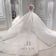 White Lace Peplum Wedding Dress Wedding Dream Dresses