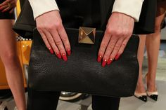 single stud details at kate spade fall 2013
