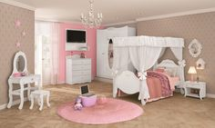 Para deixar o quarto da sua filha digno para uma verdadeira princesa, o estilo provençal é a melhor opção. Com detalhes trabalhados e design elegante, esses móveis vão fazer toda a diferença na decoração.