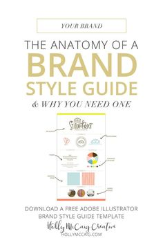 Having a style guide is necessary for consistent visuals and for marketing your blog or business. Brand recognition is vital to building your audience and brand. Using a brand style guide helps make it fool-proof. Download a free brand style guide templat