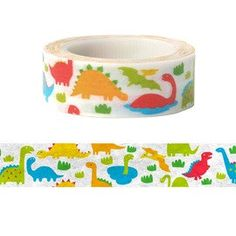 Hey, I found this really awesome Etsy listing at https://www.etsy.com/listing/181309007/dinosaurs-washi-masking-tape-15-mm-x-10