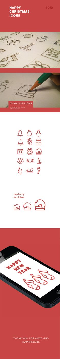 Christmas XMAS vector icon - by Andrea Arques