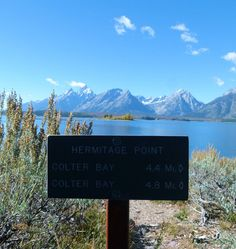 My favorite view of Tetons. Take the trail from Colter Bay to Hermitage Point.