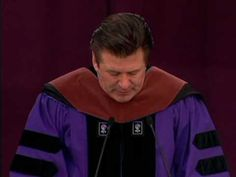 Alec Baldwin the award-winning actor and alumnus of NYUs Tisch School of the Arts addressed the graduates at todays ceremony. He received a Doctor of Fine Arts degree, honoris causa.