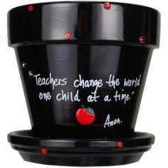 Teacher's gift idea.