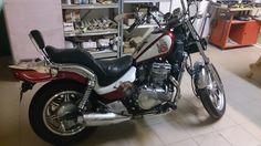 Kawasaki EN 500 after