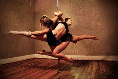 Doubles pole.