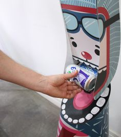 Toyovky and Toyosan - our gravity can dispensers by Veronika Filippova, via Behance
