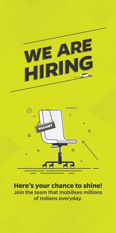 "Check out my @Behance project: ""Hiring Poster"" https://www.behance.net/gallery/54131615/Hiring-Poster"