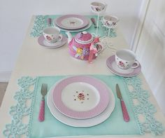Placemats for elegant table settings - Little Piece Of Me