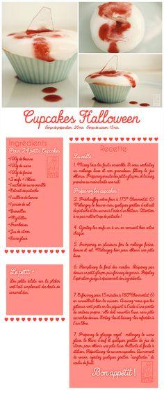 Les Gourmandises de Jelly: ♥ 044 • Cupcakes Halloween ♥