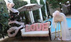 当日レポ2 ガーデン装飾(LOVEオブジェ) |あくびのHAPPY LIFE♪|Ameba (アメーバ)