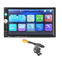 74.86$  Watch here - http://ali2kb.worldwells.pw/go.php?t=32751619355 - G1 New Bluetooth Car Stereo Audio In-Dash Aux Input Receiver SD/USB MP5 Player + Camera 7023B Car Styling Electronic Accessories 74.86$