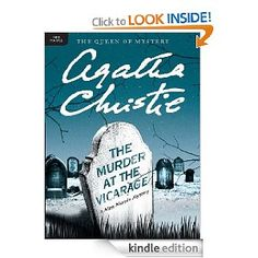 The Murder at the Vicarage by Agatha Christie a Miss Marple mystery