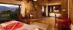 Suite Romantica Corazon de Chocolate del hotel Luna Runtun en Banos Ecuador 2015