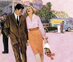 Lynn Buckham illustration #vintage #love #valentines