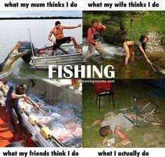 So true. Fishing