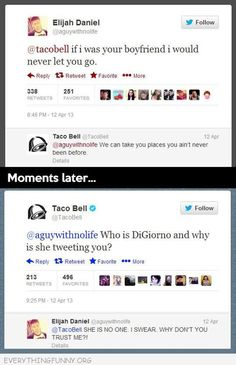 Taco Bell Trust issues