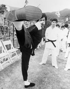 Bruce Lee was always Fight Choreographer for his films. He planned every fight sequence down to the smallest detail.