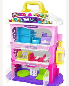 We have too many playsets but we NEED this!! #Repost @elsassurprise ・・・ Omg what's this  Found online at The Entertainer, it says Shopkins Tall Mall playset coming soon  #shopkins #spkfans #spkfan #shopkinsseason1 #shopkinslove #toy #toys...