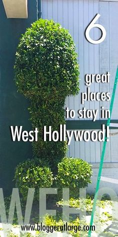 You find all sorts of crazy things in West Hollywood(!) including some of the best hotels in LA. Plus the nightlife, celebrity spotting, delicious places to eat... Here's my review of 6 great places to stay in Weho and why you might like them.  #Westhollywood #weho #LAhotels