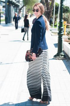 stripes  #muserebelle #streetstyle #navy #marni #mcqueen #fashionblogger