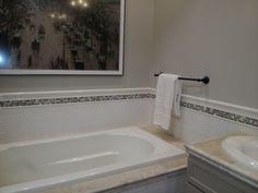 tile around bathtub Bathrooms Pinterest Bathtubs Bath and